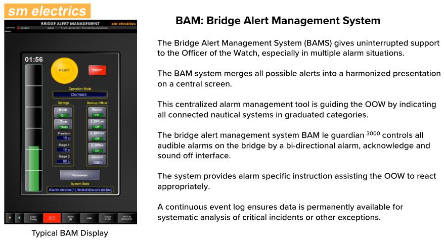BNWAS Bridge Navigational  Watch Alarm System 2