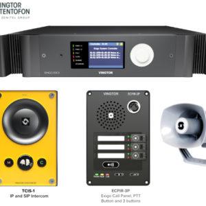 IP based Systems for:   PA/GA, Phone &  Talkback Intercom 13