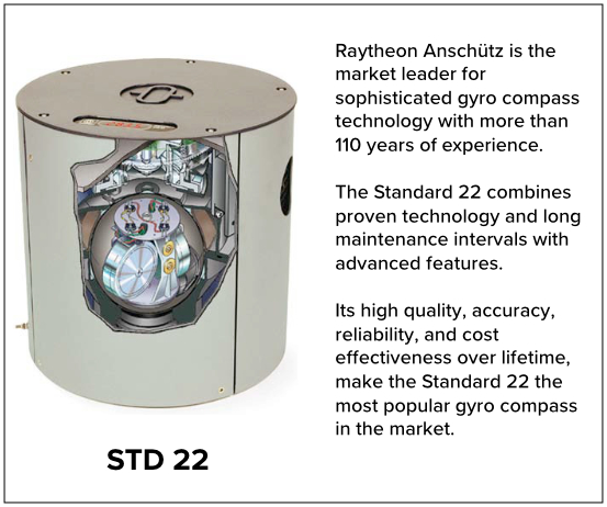 STD 22 & STD 30 MF Gyrocompasses 1