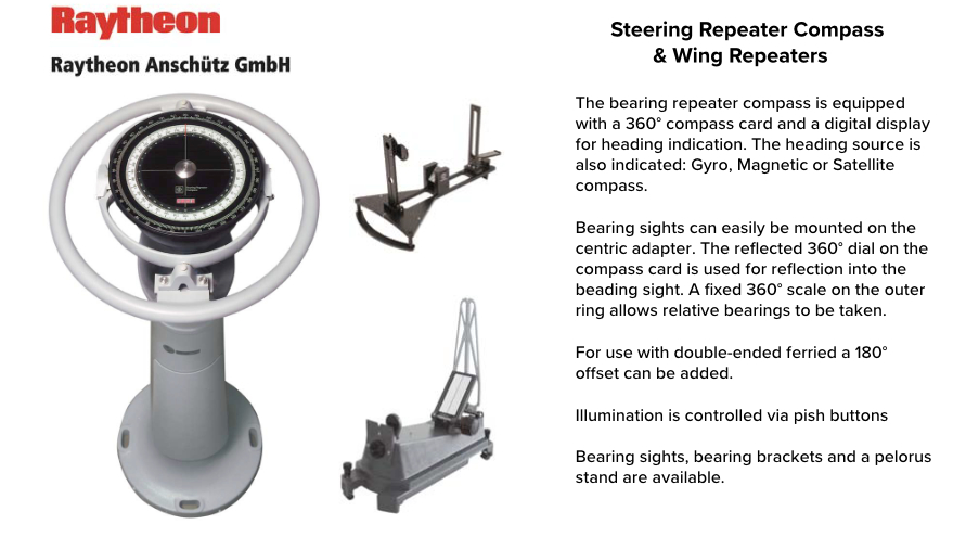 Steering Repeater Compass & Wing Repeaters 2