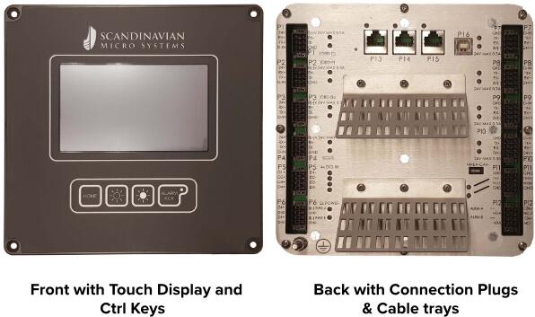Navigation Interface & Control Unit