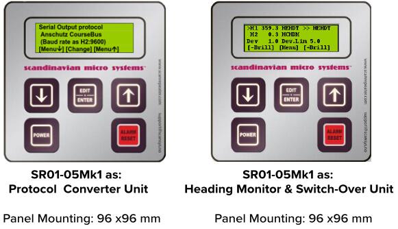 Heading Monitor Unit
