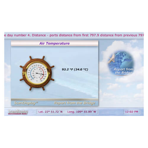 Passenger Information System Temperature