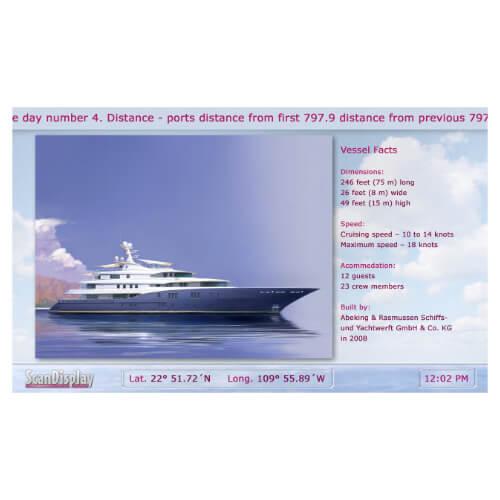 Onboard Passenger Information System